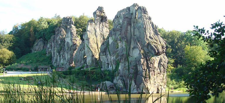 Externsteine, N.Germany