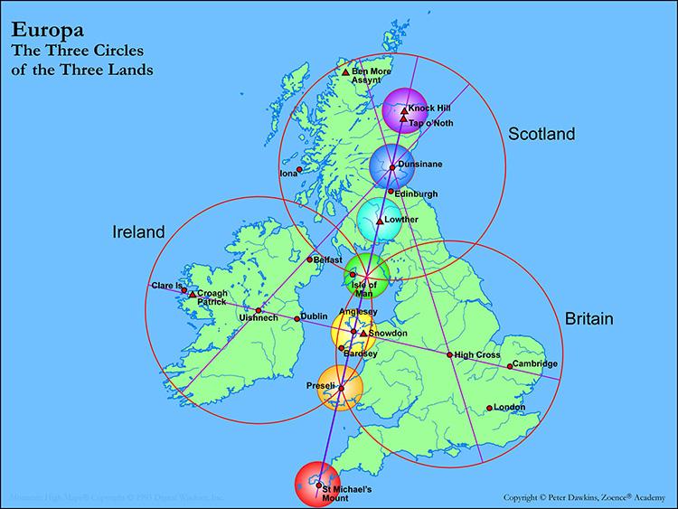 Landscape Temple British Isles