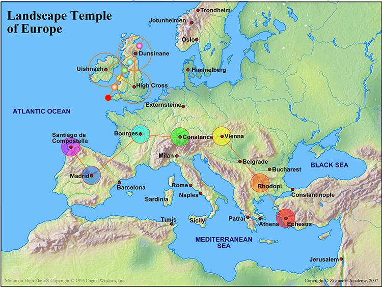 Landscape temple of Europe