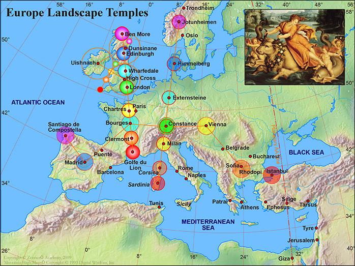 Europe landscape temple