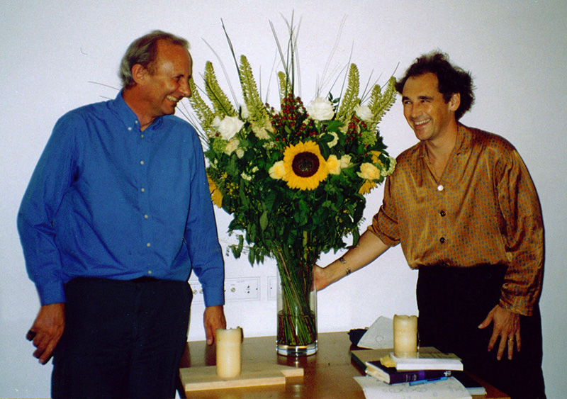 Mark Rylance and Peter Dawkins