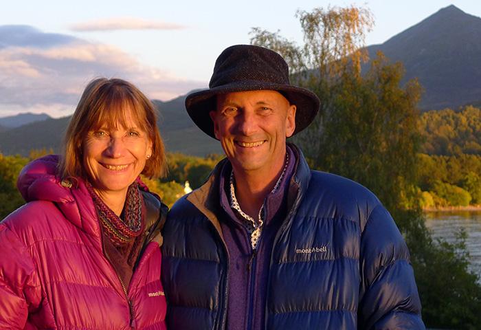 Peter and Sarah Dawkins