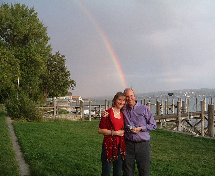 Peter and Sarah at Reichenau